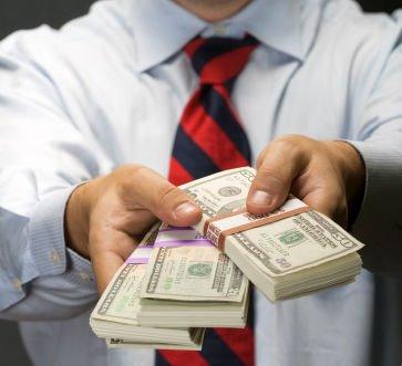Money-handout